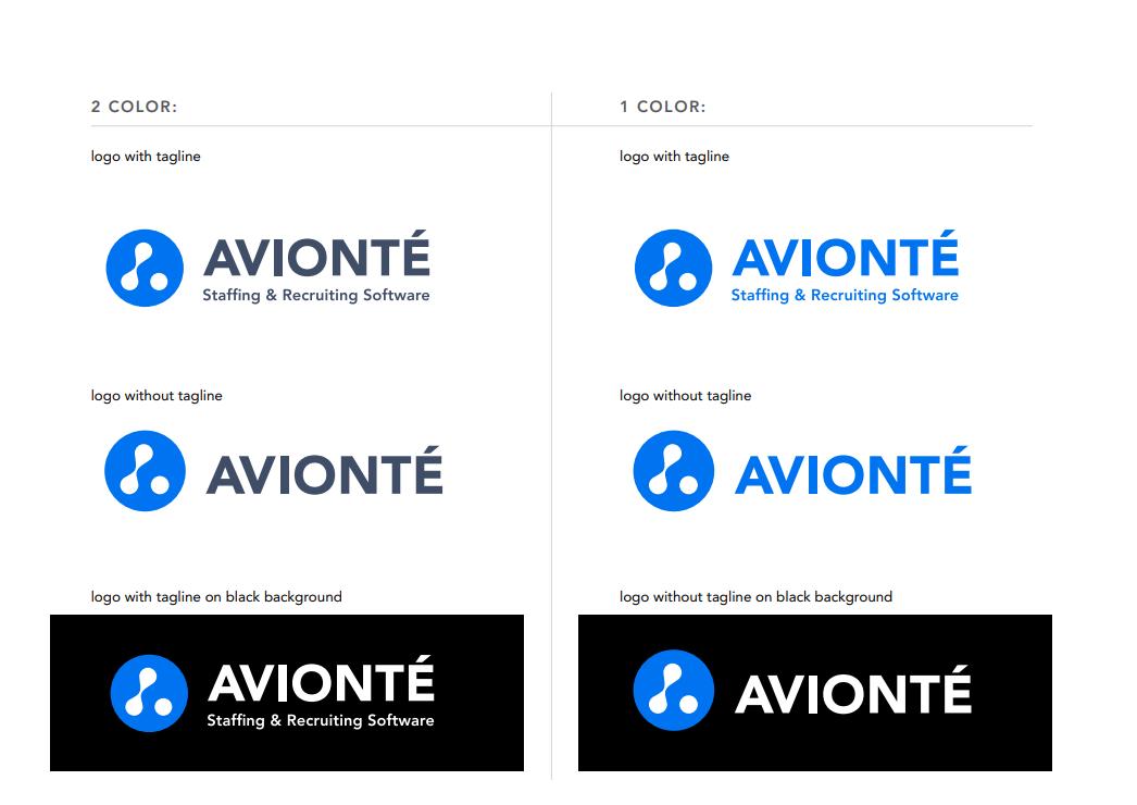 Avionte Color Logos