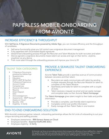 Paperless Mobile Onboarding Screenshot